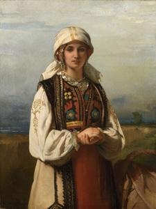 Jean François PORTAELS - Painting - Fantaisie Hongroise