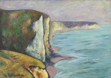 古斯塔夫·罗瓦索 - 绘画 - Les Falaises (Normandie)