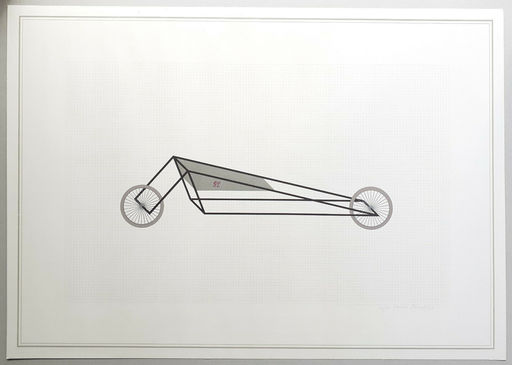 Gianni PIACENTINO - Estampe-Multiple - Vehicle sculptures. Wall sculptures