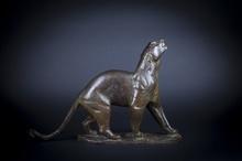 Georges Lucien GUYOT - Sculpture-Volume - Panthère humant