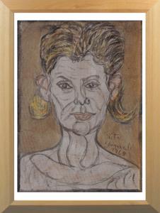 Pietro GHIZZARDI - Painting - Ritratto di Mircia