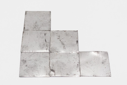 Carl ANDRE - Sculpture-Volume - Grimy Al Trine