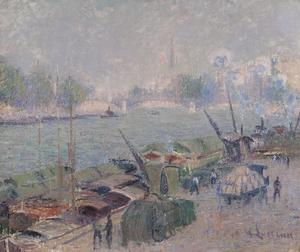 Gustave LOISEAU, Le Pont Henri IV – Paris
