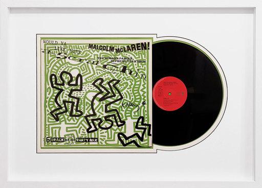 凯特•哈林 - 雕塑 - Vinyl record - Malcolm McLaren