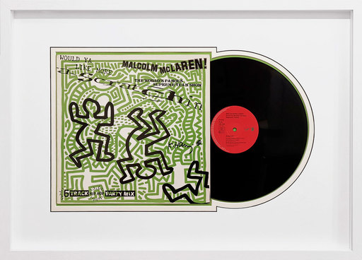 Keith HARING - Sculpture-Volume - Vinyl record - Malcolm McLaren