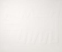 凯特•哈林 - 版画 - White Icons - Barking Dog