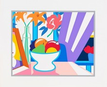 Tom WESSELMANN - Estampe-Multiple - Still Life with Lilies and Mixed Fruit