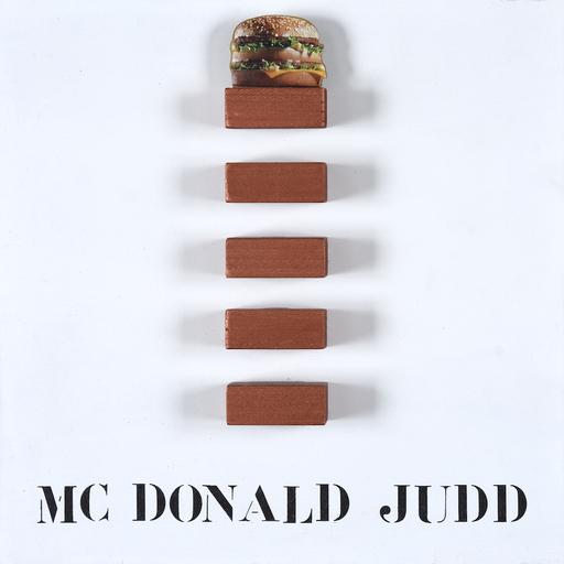 Sergio VANNI - Peinture - Mc Donald Judd
