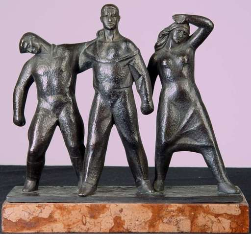 Zoltán KISS - Escultura - Together