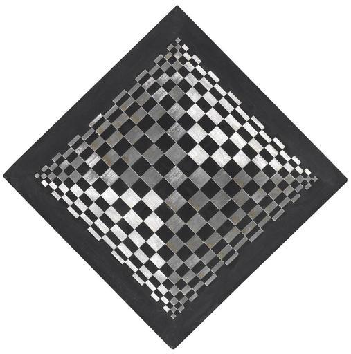 DADAMAINO - Pintura - Oggetto ottico dinamico