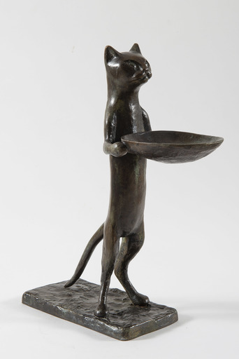 Diego GIACOMETTI - Escultura - Chat maître d'hôtel