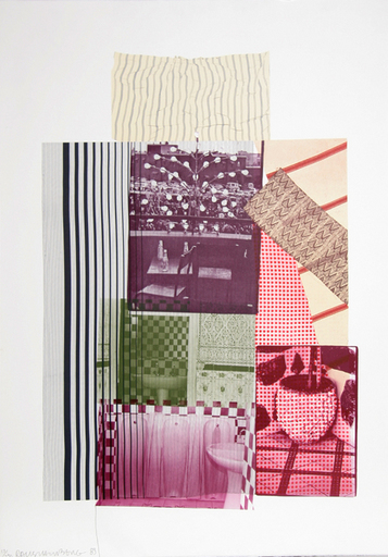 Robert RAUSCHENBERG - Stampa-Multiplo - Pre-Morocco from 8 by 8 to Celebrate Portfolio