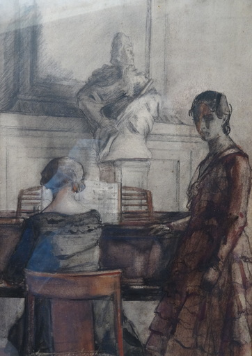 Georges VAN ZEVENBERGHEN - Drawing-Watercolor - Adagio