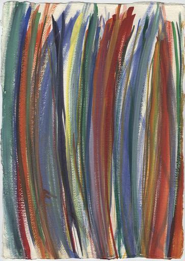 Adrienne FARB - Drawing-Watercolor - Sans titre