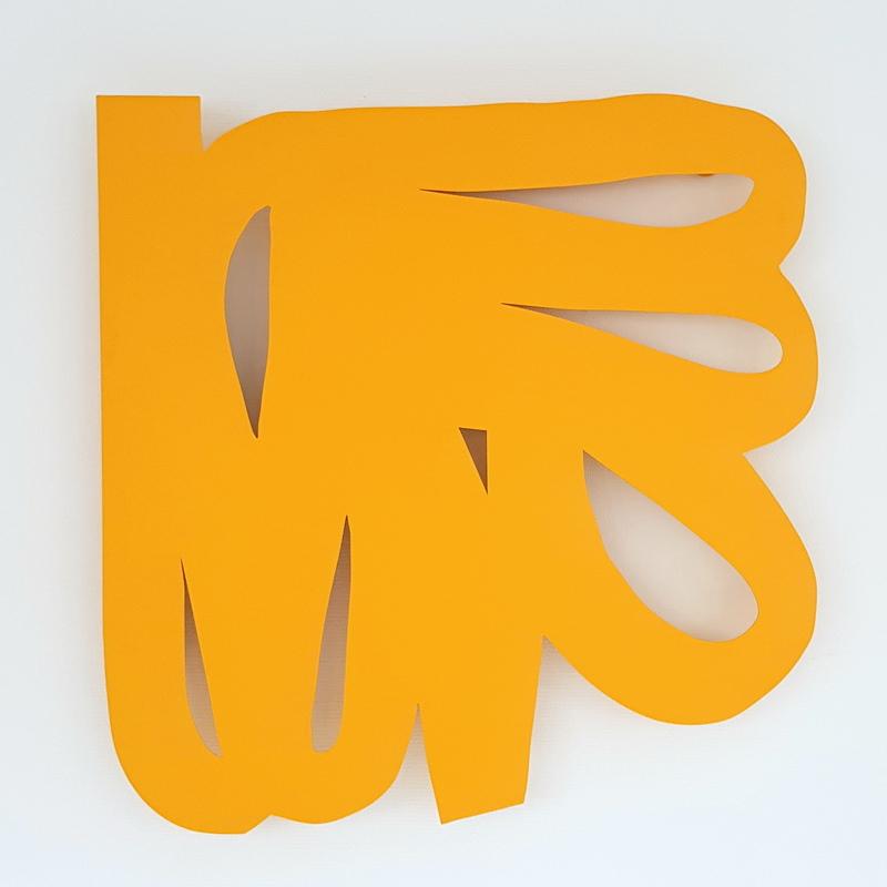 Alain CLÉMENT - Sculpture-Volume - AC 13 jaune
