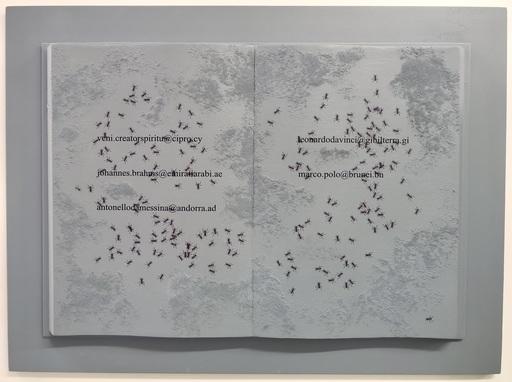 Emilio ISGRO - Painting - Brahms negli Emirati