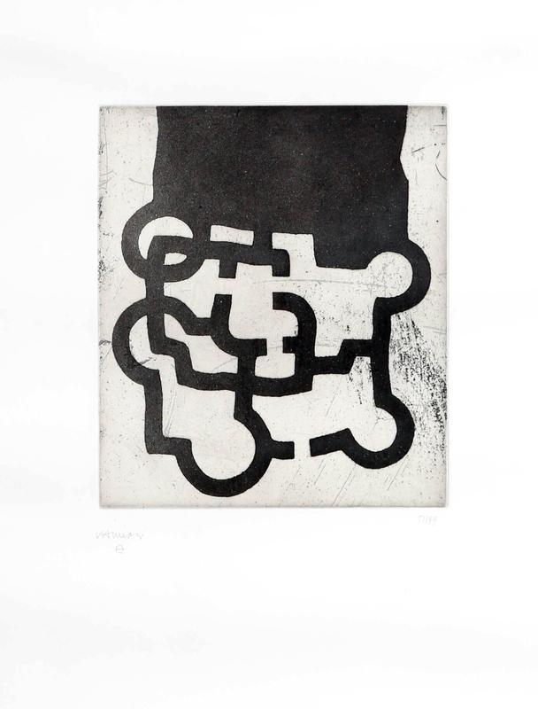 Eduardo CHILLIDA - Print-Multiple - Hommage à Sir Roland Penrose