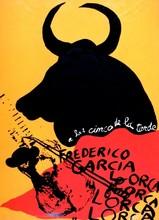阿尔曼 - 版画 - Homage to Federico Garcia Lorca