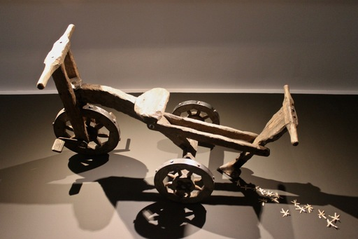 Vasily SLONOV - Escultura - Child's bicycle