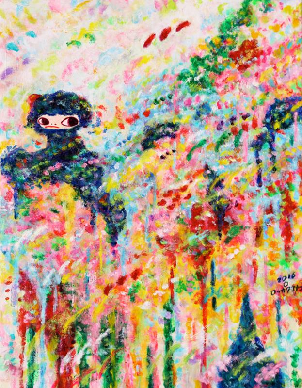 Ayako ROKKAKU - Pintura