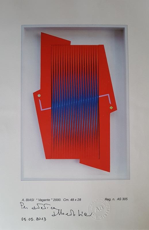 Alberto BIASI - Peinture - Viandante