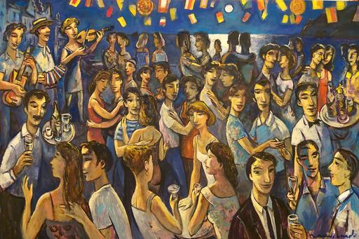 Ramón MOSCARDO FERNANDEZ - Painting - Fem Festa