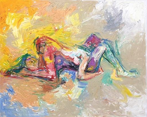 Nicole LEIDENFROST - Gemälde - Liebesspiel