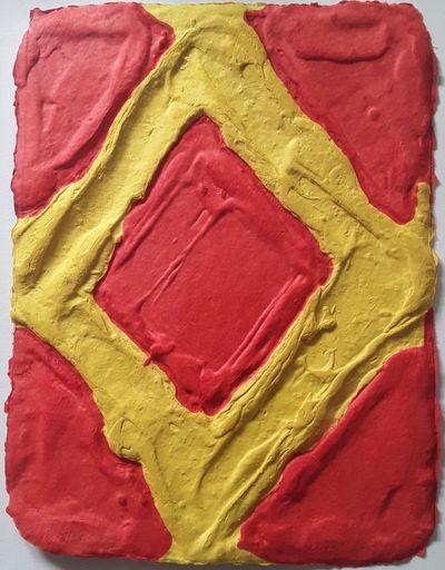 Bram BOGART - Print-Multiple - Yellow in Red