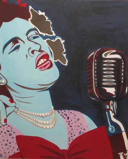 Bernard RANCILLAC - 版画 - Billie Holiday