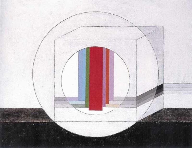 Eugenio CARMI - Painting - la dimensione nascosta