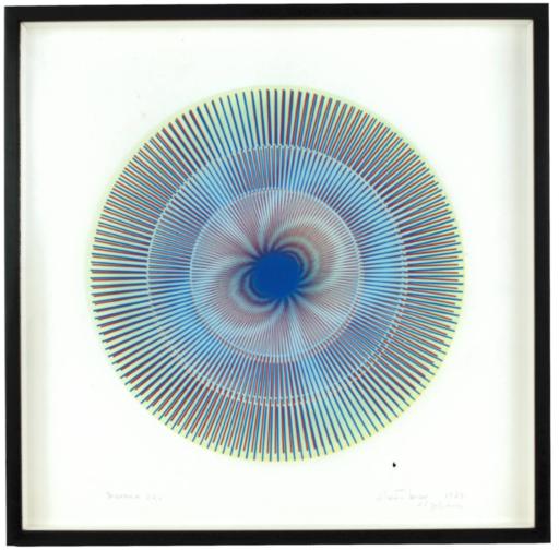 Alberto BIASI - Painting - Dinamica '62