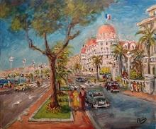 Jacques RUIZ - Pintura - Nice Negresco