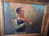 Leopold PILICHOWSKI - Peinture - kleiner jüdischer Geiger, small Jewish violinist