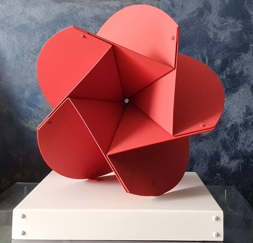 Edgar NEGRET - 雕塑 - Flor Sanky