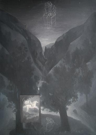 Pino DEODATO - Painting - il principe azzurro