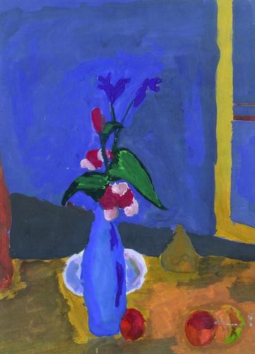 Reine BUD-PRINTEMS - Gemälde - Petit Ours ailé