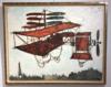Claude VENARD - Gemälde - La machine volante