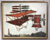 Claude VENARD - Painting - La machine volante