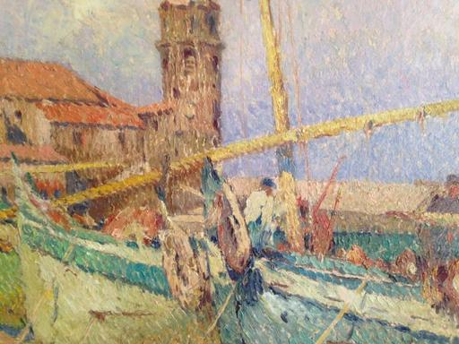 L.Raoul GUIRAUD - Pintura - Collioure