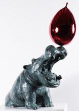 Philippe BERRY - Sculpture-Volume - Hippo Ballon
