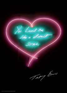 Tracey EMIN - Estampe-Multiple - You loved me like a distant star