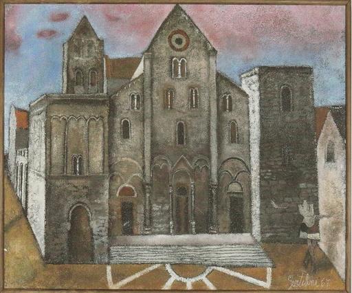 Franco GENTILINI - Gemälde - San Nicola di Bari