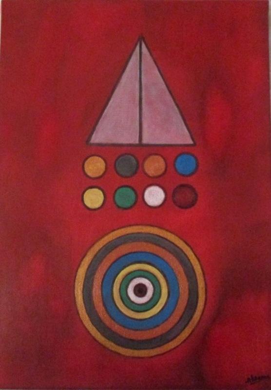 ATCHAMA - Painting - les couleurs de la conscience