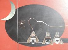 Andrès SEGOVIA - Pintura - Les Abeilles