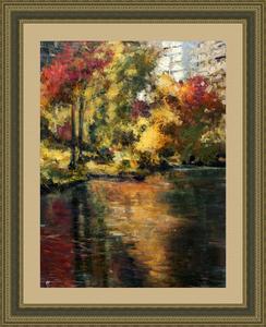 Levan URUSHADZE - Peinture - Fall in New York