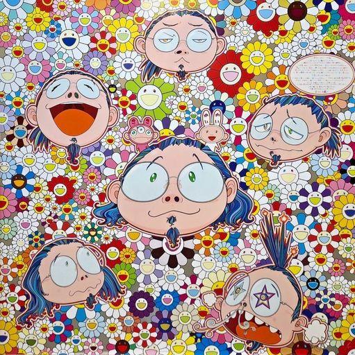 Takashi MURAKAMI - Grabado - The Artist's Agony and Ecstasy