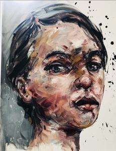 Philippe PASQUA - Gemälde - Étude