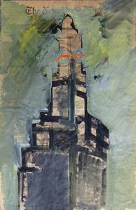 Josep GUINOVART - Painting - New York V