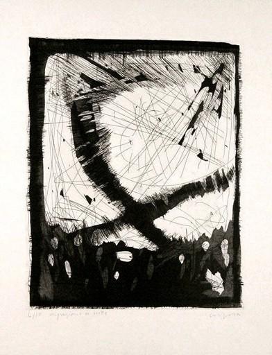 Antonio CORPORA - Druckgrafik-Multiple - Notte nella Laguna