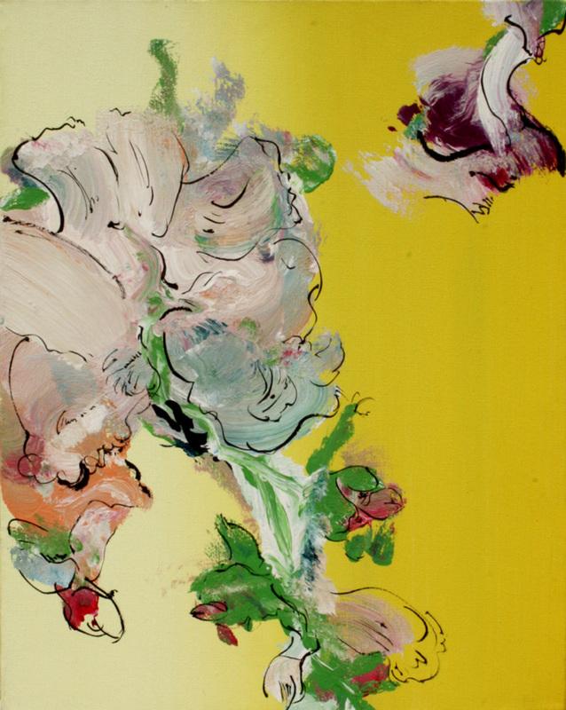 Stéphane CALAIS - Pittura - Rosae, Rosae